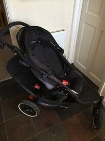 Phil & Ted double explorer pushchair
