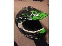 Monster Motocross helmet - Medium
