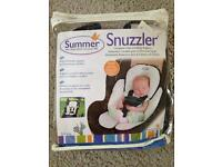 HEAD AND BODY SUPPORT- snuzzler summer!