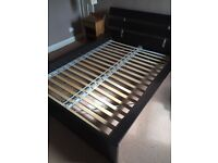 FREE Queen size bed frame and mattress. Ikea bed worth over £400. FREE.
