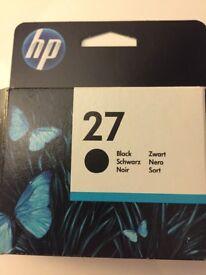HP27 Black ink