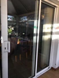 Double glazed Patio doors with lock