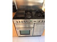 Rangemaster Toledo 90. Excellent condition. Comes with user and installation guide.