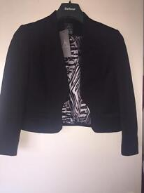 Black jacket size 12 with tag