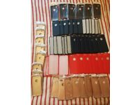 60 x NEW Soft Silicon & Hard iPhone 7 and 7 Plus Cases. Navy Blue, Red, Pink and Cream
