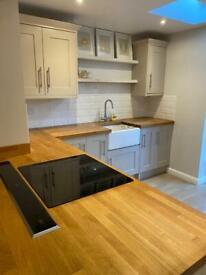 Kitchen units/ worktops & cooker hood for sale