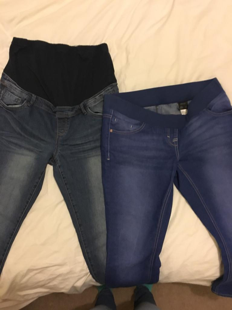 b5a9bba33fbef Maternity jeans size 14 - three pairs - Next & Debenhams | in ...