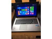 Asus Laptop touch screen year old boxed core I3