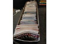 300+ Comics and 24 Fortean Times Mags