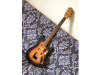 Unknown brand 70's Jaguar / Mustang type department store guitar in need of rebuild!