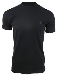 French Connection/ FCUK Mens T-Shirt Short Sleeved Crew Neck
