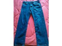 Mans hogo boss jeans
