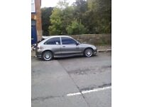 2002 mg zr 1.4 petrol motd to April 2018 cheap we car to insure and tax