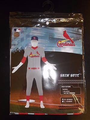 New St. Louis Cardinals Child Medium (M) Full Body Skin Suit Halloween Costume