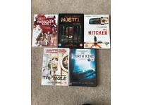 Horror/ Thriller DVD's Paradise Lost Hostel The Fourth Kind Triangle The Hitcher
