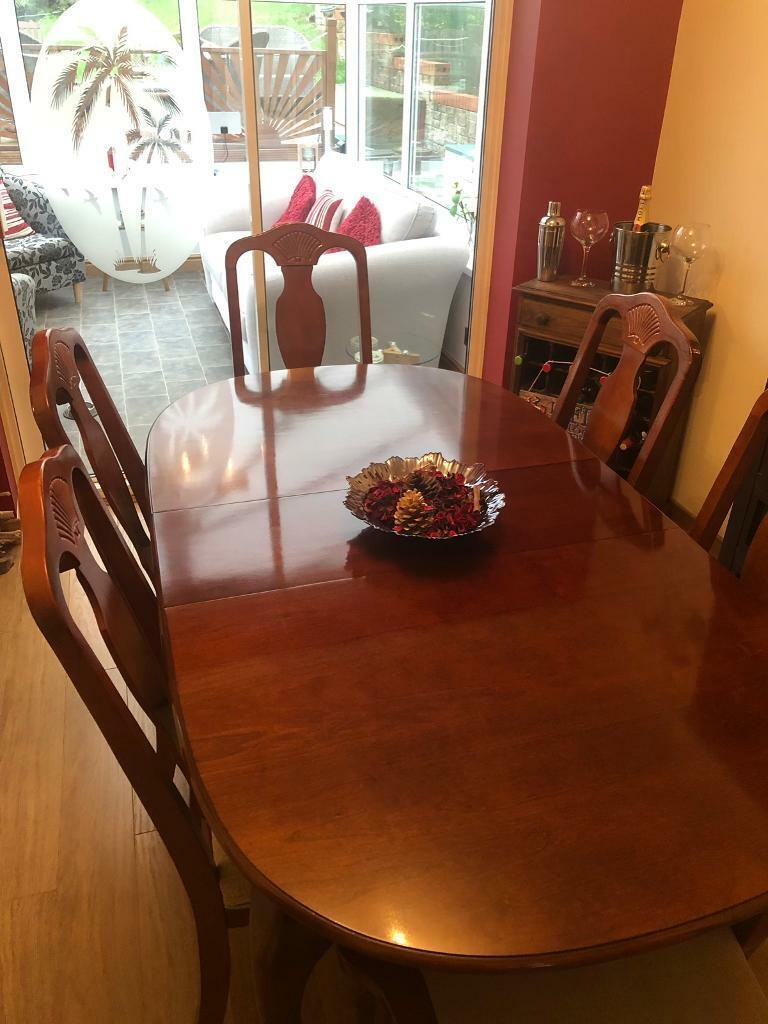 Awe Inspiring 6 Seater Dining Table And Chairs In Swansea Gumtree Home Interior And Landscaping Palasignezvosmurscom