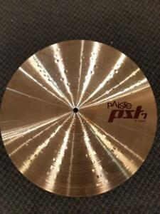 Cymbale Paiste PST 7 Crash 18 usagée-used