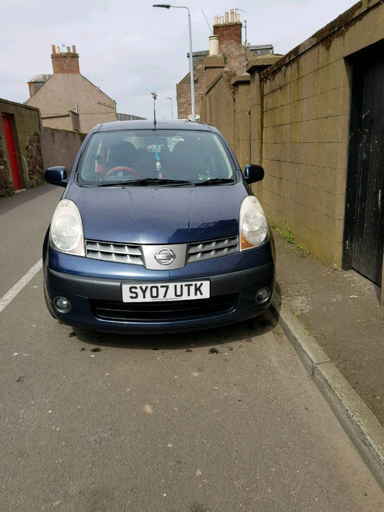 Nissan note 07 plate
