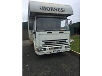 Project horsebox Lorry - Possibly Motor sport conversion.