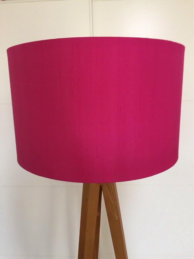 Great Habitat large drum lampshade pink O.N.O