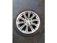 """BMW 18""""alloy wheels £250"""