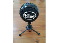 Blue Snowball USB Desktop Microphone - BLACK