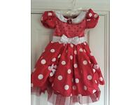 Age 5 years Minnie Mouse dress- Disney Store