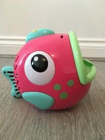 Freddy the Fish Bubble Machine - £3 Sold without batteries