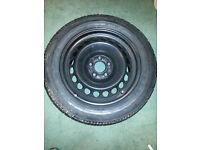 Pirelli P6000 Tyre 215x55x16 on Mercedes Steel Rim As New done 25 Miles