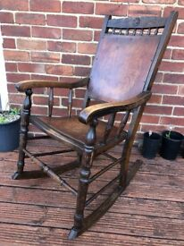 Rocking chair (adult size) - COLLECTION ONLY