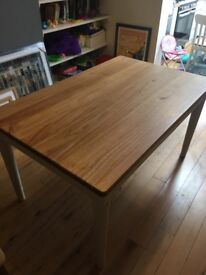 John Lewis Drift Dining Table with 4 Chairs in Excellent Condition