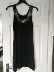 Julian Mcdonald black dress.UnusualVgc