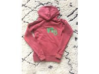 Used, JACK WILLS SIZE 8 DARK RED HOODIE. for sale  Berkshire