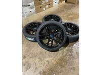 """Brand new set of 20"""" alloy wheels and tyres Ford Transit Custom Mk7"""