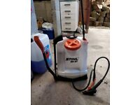 Sthil SG51 sprayer, as new. boxed with fork/ double nossle