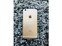 iPhone 6+ gold W/ cracked screen