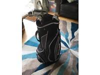 Dunlop Max irons 6 - SW golf clubs, regular GRAPHITE shafts, golf bag and a chipper