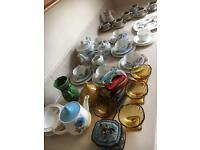 China, tins and glass job lot