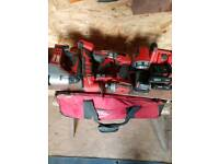 Milwaukee 18v tools
