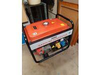 6-5hp petrol generator as new