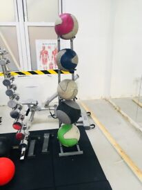 Gym-Owned Medicine Ball Rack (BALLS NOT INCLUDED)