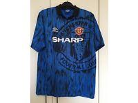 Vintage Manchester United shirt