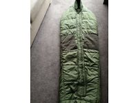ARTIC Sleeping Bag, with Liner. Size Medium. Fishing, camping, bushcraft
