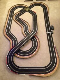 Scalextric Sport Large Layout with Lap Counter / Half Hairpin / Crossover & 2 Cars