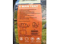 Adventuridge 5 Man Tent NEW!!!