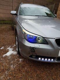 BMW 525D 6 SPEED MANUAL TOURING