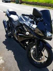 Kawasaki ninja 250r swap for car
