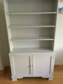 Small dresser painted in Farrow & Ball 'Pavilion Grey'