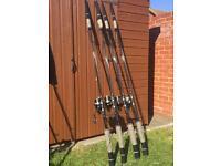 TF Gear Banshee carp rod and spod set