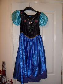 Elsa dress and jewellery and Anna Dress